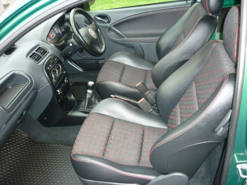 2003 mg zr 105 interior