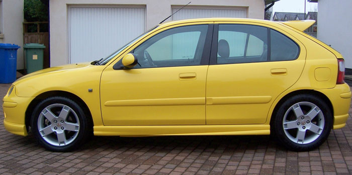 2002 MG ZR 105 Left Side