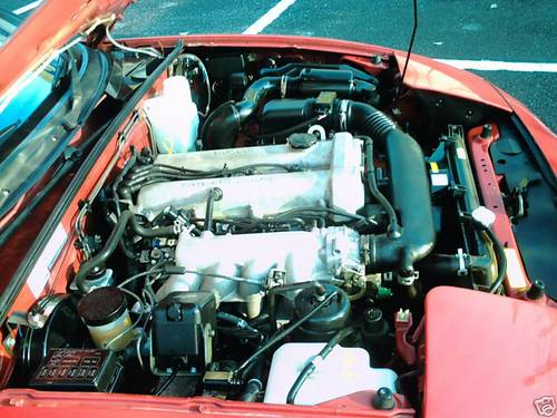 1998 mk1 mazda mx5 1800i engine bay