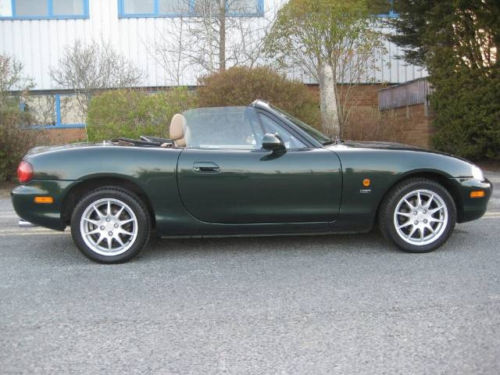 mazda mx5 1.8 se ltd edition leather hard top 2