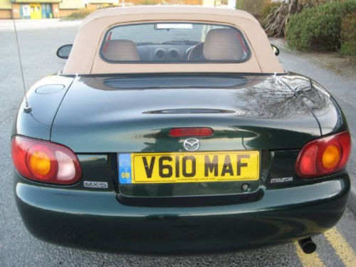mazda mx5 1.8 se ltd edition leather hard top 6