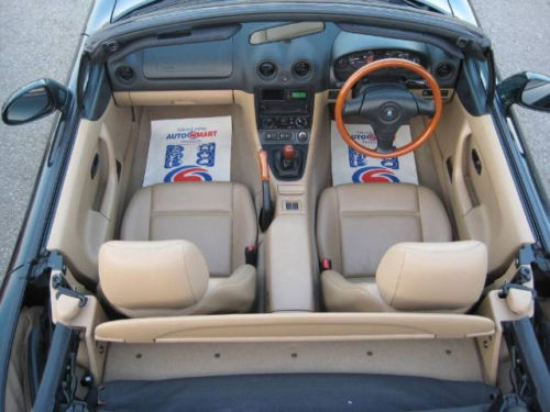 mazda mx5 1.8 se ltd edition leather hard top interior