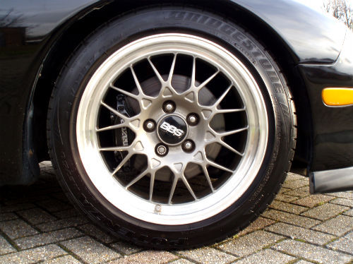 1994 mazda rx7 twin turbo type rz bbs wheel