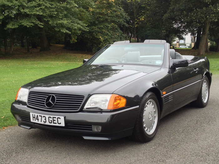1990 Mercedes-Benz R129 500SL Roadster 2