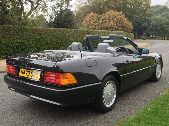 1990 Mercedes-Benz R129 500SL Roadster 3