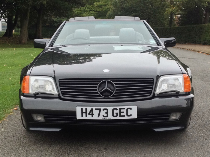 1990 Mercedes-Benz R129 500SL Roadster Front