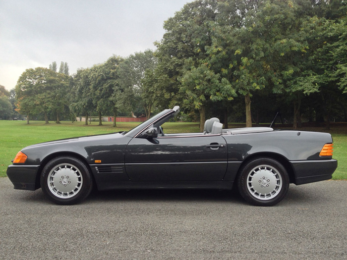1990 Mercedes-Benz R129 500SL Roadster Side