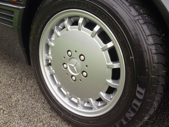 1990 Mercedes-Benz R129 500SL Roadster Wheel