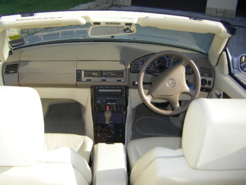 1999 mercedes benz sl320 v6 auto interior 2