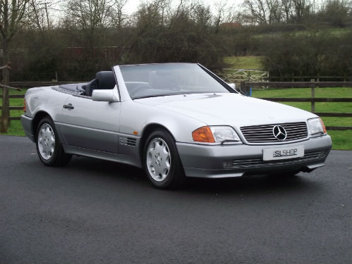 1992 mercedes-benz sl 500 r129 1