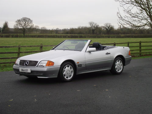 1992 mercedes-benz sl 500 r129 2