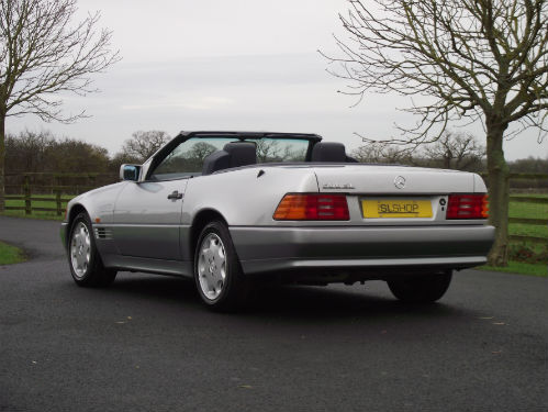 1992 mercedes-benz sl 500 r129 4