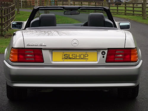 1992 mercedes-benz sl 500 r129 back