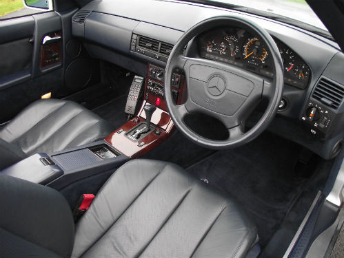 1992 mercedes-benz sl 500 r129 interior