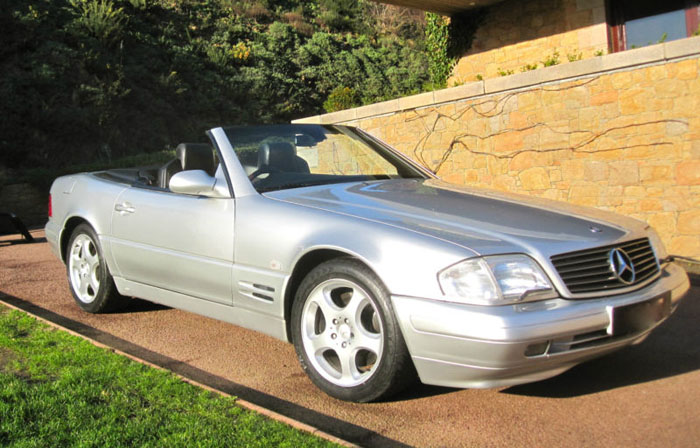 1999 mercedes sl320 r129 automatic convertible 1
