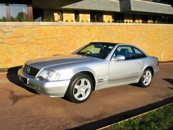 1999 mercedes sl320 r129 automatic convertible 3