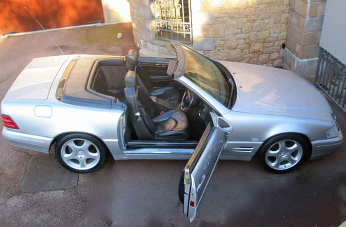 1999 mercedes sl320 r129 automatic convertible 4