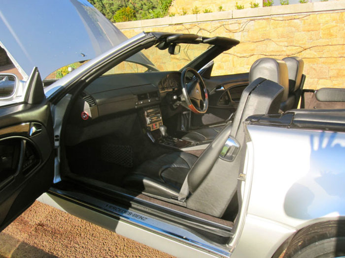 1999 mercedes sl320 r129 automatic convertible interior