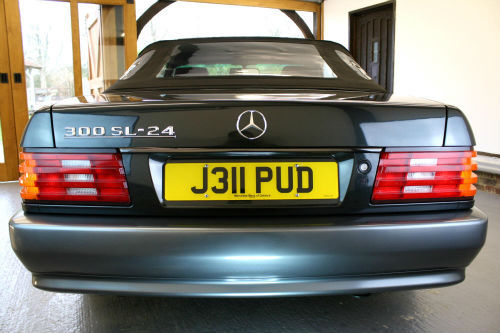 1992 Mercedes-Benz 300SL Back