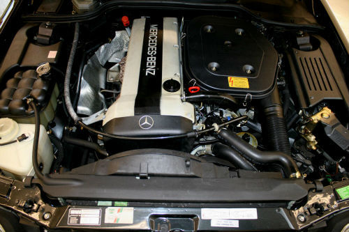 1992 Mercedes-Benz 300SL Engine Bay