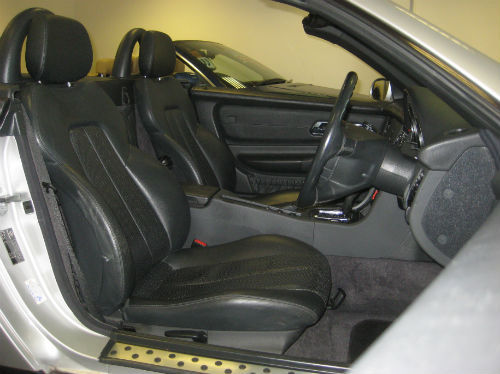 1999 mercedes-benz slk 230k interior 1