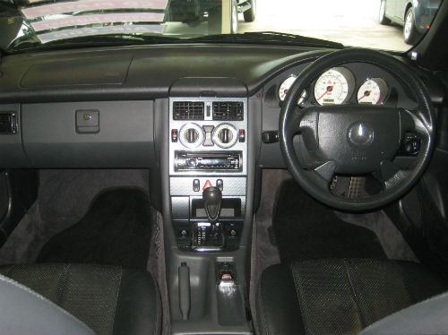 1999 mercedes-benz slk 230k interior 2