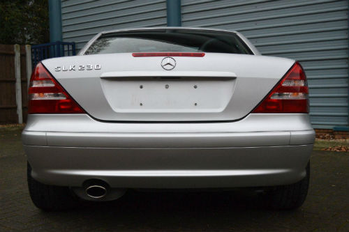 2002 mercedes benz slk230 kompressor 2.3 auto back