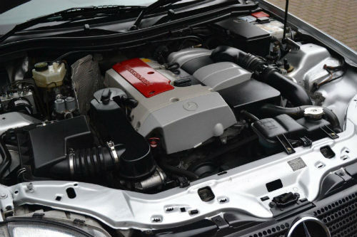2002 mercedes benz slk230 kompressor 2.3 auto engine bay