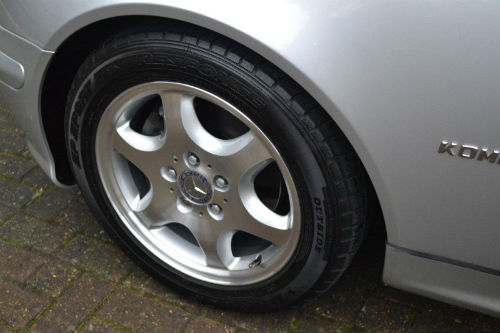 2002 mercedes benz slk230 kompressor 2.3 auto wheel