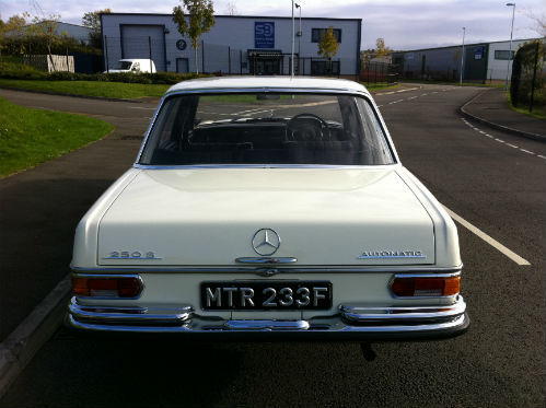 1968 Mercedes-Benz W108 250S Back