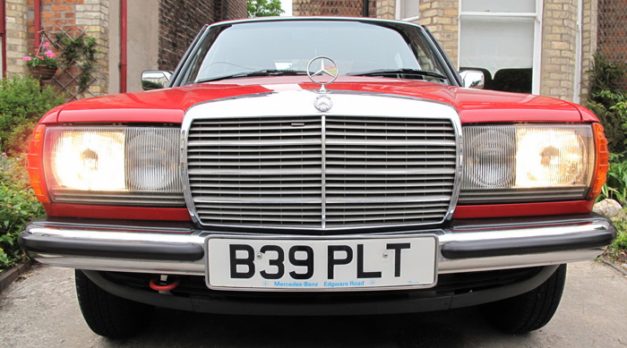 1985 Mercedes-Benz W123 200 Front Grille Lights