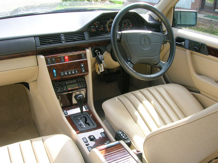 1994 mercedes benz e320 interior 2