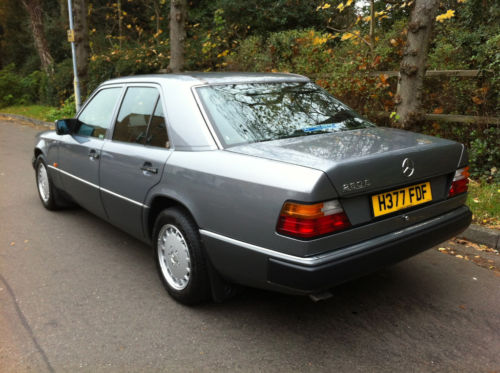1990 mercedes 260e auto pearl grey metallic w124 3
