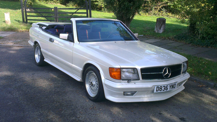 1986 Mercedes-Benz W126 500 SEC Magic Top Special 2