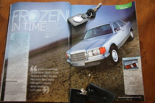 1983 Mercedes-Benz 280SE W126 S Class Magazine Article