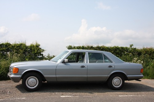 1983 Mercedes-Benz 280SE W126 S Class Side