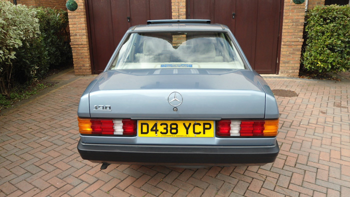 1987 Mercedes-Benz W201 190 Back