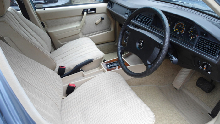 1987 Mercedes-Benz W201 190 Front Interior