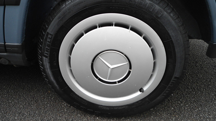 1987 Mercedes-Benz W201 190 Wheel