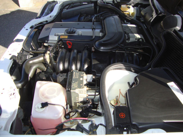 1996 Mercedes-Benz W210 E280 Engine Bay 1