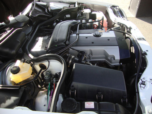 1996 Mercedes-Benz W210 E280 Engine Bay 2