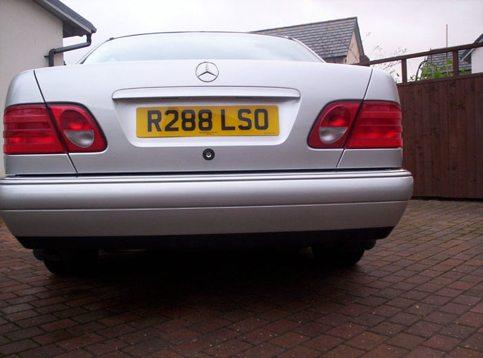 1997 mercedes e200 avantgarde a silver back