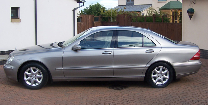 2004 Mercedes-Benz W220 S280 Left Side