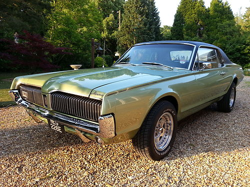 1967 Mercury Cougar XR7 302 V8 1
