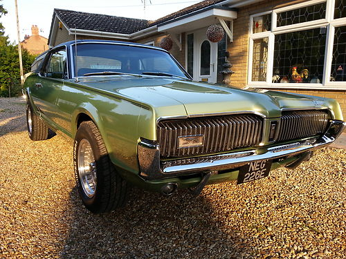 1967 Mercury Cougar XR7 302 V8 2