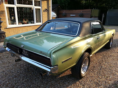 1967 Mercury Cougar XR7 302 V8 3