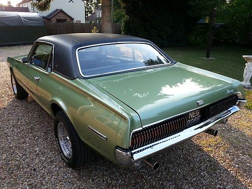 1967 Mercury Cougar XR7 302 V8 4