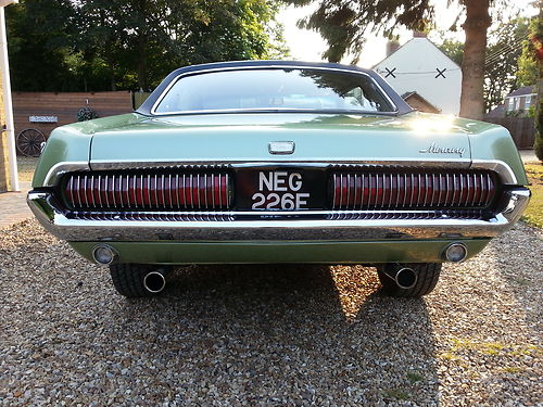 1967 Mercury Cougar XR7 302 V8 Back