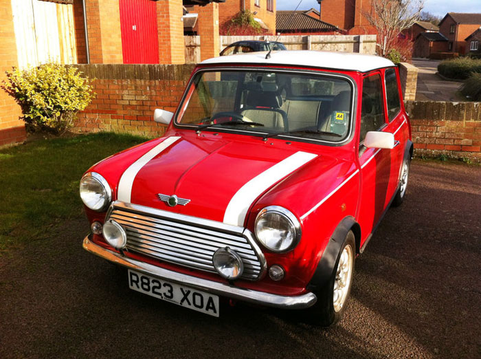 1998 red mini cooper immaculate condition 1