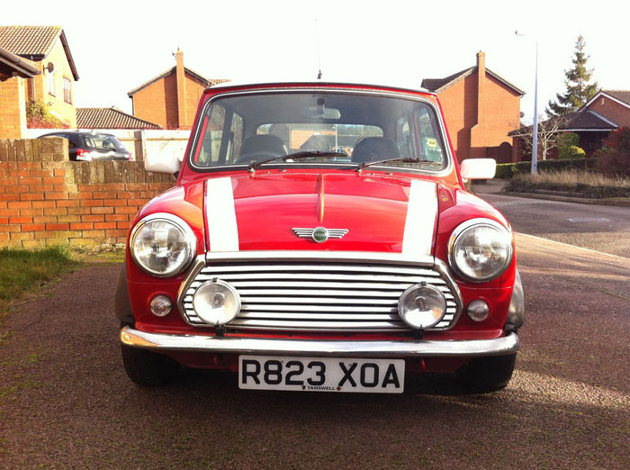 1998 red mini cooper immaculate condition 2